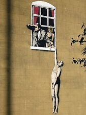 BANKSY ART PRINTS PHOTO PRINT (LOVERS)..NEW