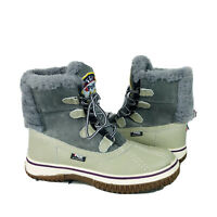 PAJAR CANADA Womens Gray Waterproof Winter Ankle Boots Euro 36 / US 5 - 5.5 NWOB
