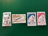 Republic Du Dahomey sports stamp set of 4