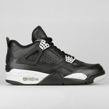 NIKE JORDAN 4 OREO IV UK 8,5 US 9.5 EU 43 314254-003 BLACK WHITE LS TECH GREY 9