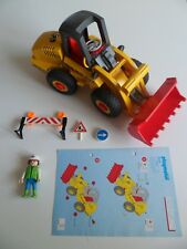 3934 PLAYMOBIL CHANTIER : Ouvrier / Bull Chargeur