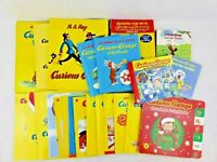 Lot of 23 CURIOUS GEORGE Children's Picture Books Hardcover/Softcover/Board Book