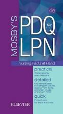 Mosby's PDQ for LPN by Mosby Publishing Staff (2016, Spiral)