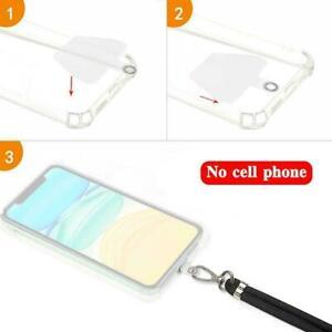 Mobile Phone Anti-Theft Lanyard Set Universal Silicone Cover Lanyard Neck I3V0