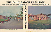 PC26138 The Only Ranch in Europe. Ponderosa. Prior and Cook