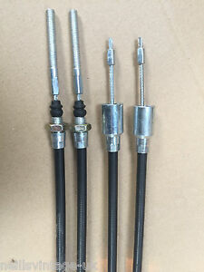 Trailer Brake Cables (x2) - Various sizes 830mm, 930mm, 1030mm - IFOR Williams