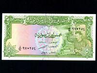 Syria:P-94d,5 Pounds 1973 * Worker * UNC *
