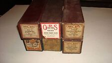 Vintage Player Piano Roll 6 Lot Silent Night, Holy Night, Aloha Land