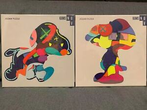 """Kaws """"No One's Home"""" & """"Stay Steady"""" SET Jigsaw Puzzle 1000 (NGV Exclusive)"""