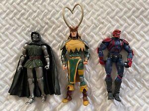 Marvel Legends Action Figures Villians Lot