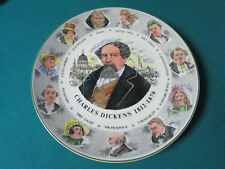 """ROYAL DOULTON ANTIQUE COLLECTOR PLATE CHARLES DICKENS 10 1/2"""" TC1042"""