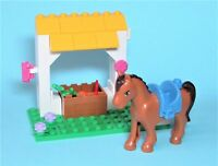 Lego Lot Friends Minifigure Horse Mocca w/ Feed and Grooming Station Girls Boys