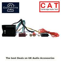 CT20AU08 Audi Quadlock Half Amplified ISO Car Radio Harness Adaptor