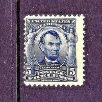 US  #304   MINT-OG ~ 1902-3 PERF 12, DL WMK