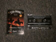 Ezra Brooks~Country Hits~Reba McEntire~Sammy Kershaw~Cassette Tape~FAST SHIPPING