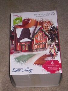 Dept 56 Snow Village Winter Retreat #4023611 Retired LTD Edition New In Box