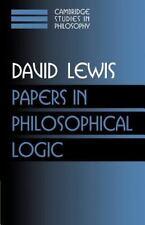 NEW - Papers in Philosophical Logic: Volume 1 (Cambridge Studies in Philosophy)