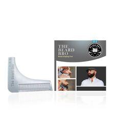 The Beard Bro Beard Shaping Tool. Perfect Shaping. Symmetry. Made in USA-Silver