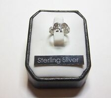 .925 Sterling Silver Elephant Ring  sz 1 .. #R32