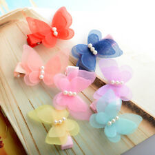 Kids Girls Children 5*Hairpins Hair Clips Accessories Butterfly Cute Pretty Hot