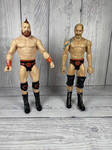 WWE THE BAR SHEAMUS & CESARO BATTLE PACK SERIES 60 WRESTLING FIGURE TAG TEAM