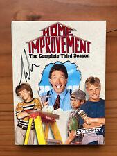 Home Improvement: Season 3 DVD set, Autographed by Tim Allen