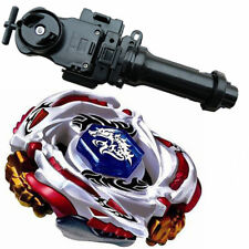 New Beyblade Metal Fusion LW105LF Meteo L-Drago Battle Top Starter+Black+grip