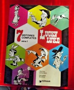 Lucky Luke 7 Histoires Complètes Série 1 de 1974 l'Hospitalité de l'Ouest ....EO