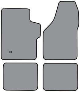 2008-2016 Ford F-550 Super Duty Crew Cab Cutpile Carpet Floor Mat 4pc