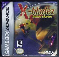 GBA x-BLADEZ INLINE SKATER (2002) Nintendo Nuovo di Zecca & Sigillato in Fabbrica