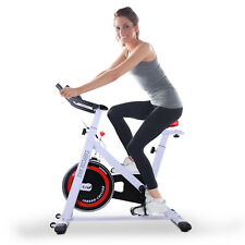 Exercise Bike Racing Bicycle Adjustable Trainer Fitness Cycle w/Resistance Steel