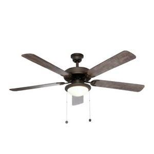 Trice 56 in. LED Espresso Bronze Ceiling Fan