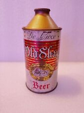 Vintage Old Shay Deluxe Fort Pitt Brewing Jeanette Pa Cone Top Beer Can