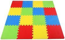 16 Piece Puzzle Exercise Floor Play Mat EVA Foam Rubber Mat Tiles Kids Baby Gift