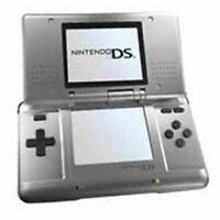 Authentic Refurbished Nintendo DS (Silver) w/Charger
