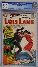SUPERMAN'S GIRLFRIEND LOIS LANE #70 CGC 5.0 1ST SILVER AGE CATWOMAN