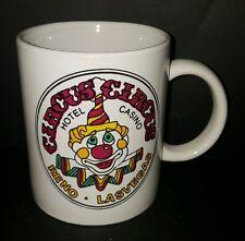 Circus Circus Hotel Casino Creepy Clown Reno Las Vegas NV Coffee Mug Cup 12 Oz
