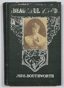 Antique Book E.D.E.N. Southworth Beautiful Fiend M.A. Donohue & Co.