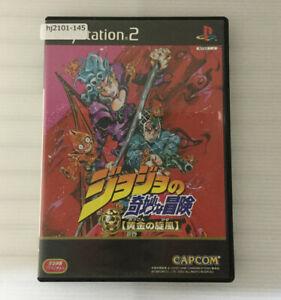 SONY PS2 Jojo no Kimyouna Bouken: Ougon no Kaze Working NTSC-J Japan hj2101-145