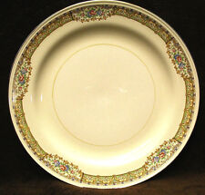 "Homer Laughlin NAUTILUS Eggshell 4@9 7/8"" Dinner Plates & 1@13 3/8"" Oval Platter"