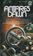 Antares Dawn Michael Collum 1986 Science Fiction Vintage Very Good Plus