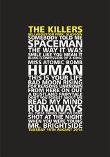 The Killers Music Memorabilia
