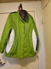 Zero Xposur Women's Plus Size Green  Rain Coat 2X