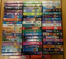 Job Lot Walt Disney 58 x VHS Videos Classics Collectible Rare Retro Vintage USED