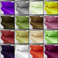 """15"""" Deep Pocket Fitted Sheet All Bedding Items US Size 300 TC Egyptian Cotton"""