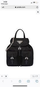 Prada Nylon Mini Backpack- Sold Out!