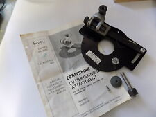 CRAFTSMAN ROUTER CUTTER GRINDING ATTACHMENT 6650 w/ 2 grinding wheels & manual