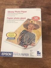 Epsom Photo Paper8.5x11 New I20 Sheets