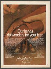 FLORSHEIM IMPERIAL  Handsewn Shoes - 1979 Vintage Print Ad