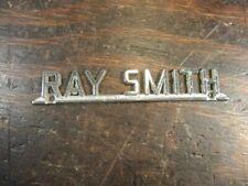 RAY SMITH Chevrolet Buick Auto Name tag Emblem TN  S579